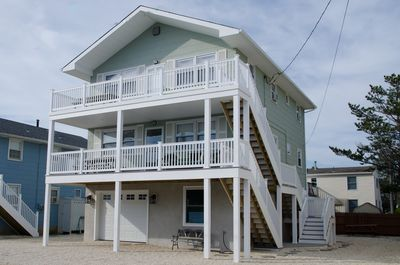 Located just steps from the beach!!!  All new decks with great views.