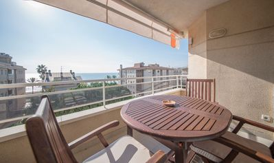 Photo for Apartment with terrace and panoramic views