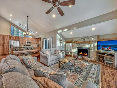 Photo for Heavenly Oasis - Close to trails, skiing and lake, hot tub, remodeled