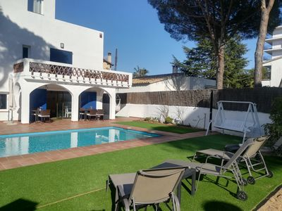 Photo for Charming Villa with private pool, near the beaches of Sa Conca and St. Pol