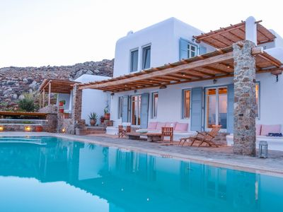 Photo for BlueVillas | Villa Cynthia Blue | Family dream with infinity pool close to beach