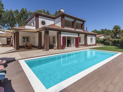 Photo for Luxury Villa within 2,5km from the beach, with private swimming pool