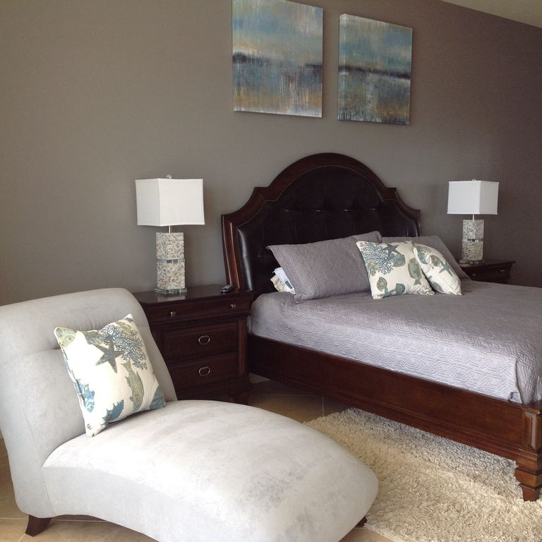 Master with king size bed  chaise lounge and sofa with queen size sleeper. A Little Something for Everyone  Sleeps 11   VRBO