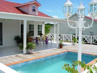 Spacious 3 Bedroom Villa With Private Pool Near English Harbour