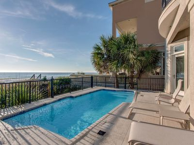 Photo for Luxury oceanfront home with private pool!
