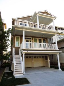 Photo for Stunning!  5 Houses from Boardwalk/Beach, Ocean View,  Beach Block