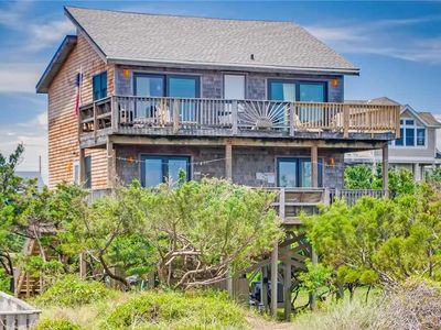 Photo for Oceanfront w/ Direct Beach Access! Hot Tub w/ Waterfall, Cmty Pool, Dog-Friendly