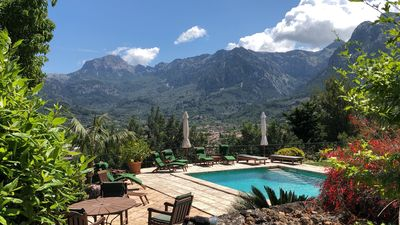 Photo for Ca'n Pons, Villa with breathtaking views, Wi-fi, Private Pool and gardens
