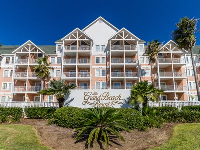 Photo for Grand Beach Resort 409 - Unobstructed Gulf Views, Prime Location, & Great Rates!