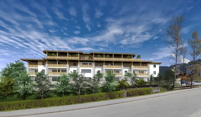 Photo for Holiday apartment with its own infrared cabin, balcony or terrace in the new building