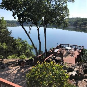 Photo for Golden Getaway, Table Rock Lakefront with AMAZING OVERLOOK DECK, Game Room & Bar Area, Luxury House
