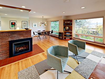 Living Room - Welcome to Seattle! Your rental is professionally managed by TurnKey Vacation Rentals.