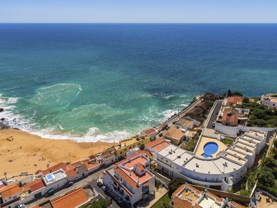 Photo for Fabulous apartment in center Carvoeiro with pool and amazing ocean views!