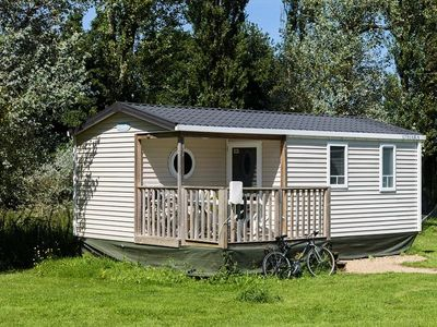 Photo for Camping Domaine de Mesqueau *** - Superior Mobile Home 3 Rooms 4 People