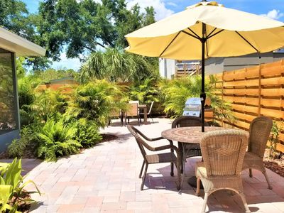 Photo for Walk to Everything Downtown, Bring Fido, Wifi, Huge Screened Lanai, Extensive Outdoor Patio & Grill