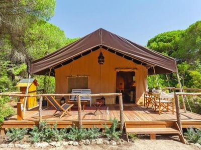 Photo for Nature Camp Safarizelte, Puerto Real  in um Cadiz - 4 persons, 2 bedrooms
