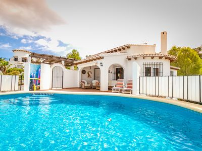 Photo for Monte Pego,Air Con, Private Pool, Free Wi-Fi, Satellite TV, 4 Beds, Sleeps 8