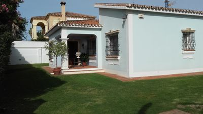 Photo for Superb villa 200m. to the beach, Wifi and private garden.
