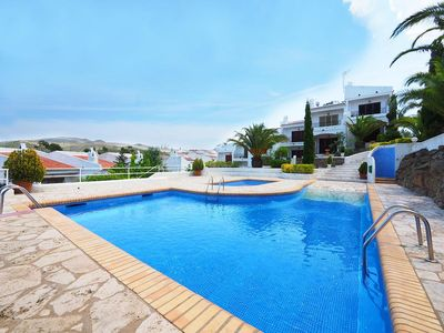Photo for Ibicencan house with pool and garden