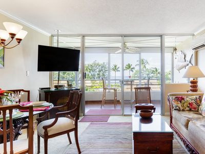 Photo for Stroll to Beach from Ocean View Condo with Pool & Rooftop Deck