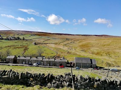 Photo for Cosy Northumbrian cottage with riverside garden in the Pennines picturesque AONB