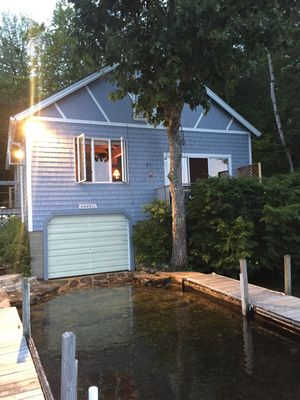 Photo for Charming House Right On Water of Great East Lake!  Perfect for Summer or Winter!