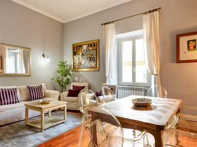Photo for Elegant and large 3Beds flat beside Piazza Popolo