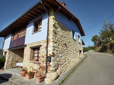 Photo for Nice house with pool between the beaches of Asturias and the Picos de Europa