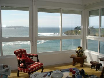 Apartment with wonderful views of the bay of La Coruña