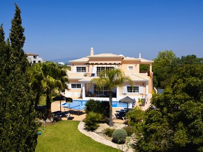 Photo for Stunning 5 bed villa, sea views, with jacuzzi, pool, garden, BBQ, WI-FI