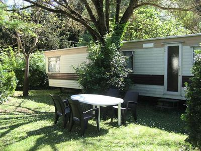 Photo for Camping les Tomasses *** - Mobil Home 3 Rooms 4/6 People