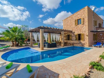 Photo for Fantastic Finca with Pool, Terrace with Lounge Area, Air Conditioning and Wi-Fi