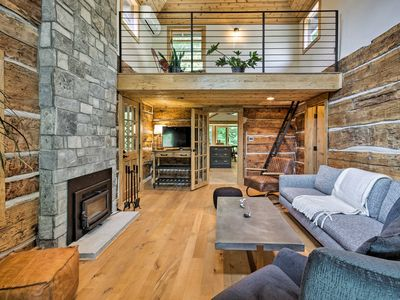 Photo for NEW! Custom Creekside Cabin 15 Mi from Asheville!