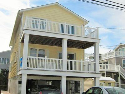 Photo for Sea isle, townsend inlet, Oceanfront Beachblock 2nd house with water views