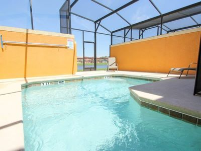 Photo for This Luxury 5 Star Townhome is located minutes from Disney World on Paradise Palms Resort, Orlando House 1195