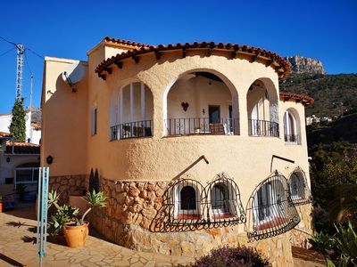 Photo for Casa Eva - Very well kept detached house in Calpe - Costa Blanca