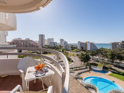 Photo for 1 Bedroom apartment with seaview (WIFI, Pool, Parking, southfacing)