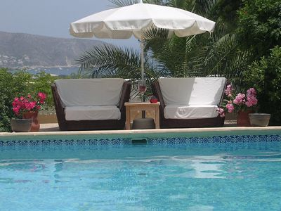 Photo for LAST MINUTE OFFER TEL!  Moraira villa 300 sqm private pool 8 pers