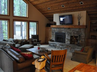 Photo for Updated Black Butte house with 2 master suites.  Great for 2 families.