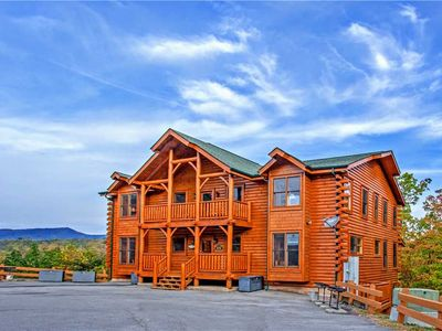 Photo for {{ Black Bear Manor }} Perfect for Any Gathering |Mountain Views |Pets Welcome |Theater Room |WIFI