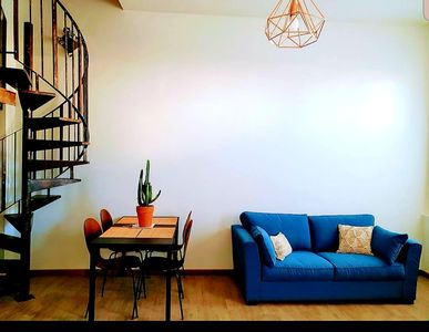 Photo for atypical apartment treated industrial way in the heart of Joliette