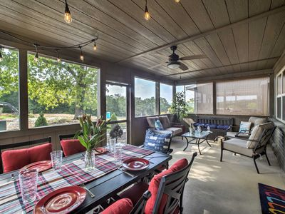 Photo for Table Rock Lake Cabin w/ Pool Access & Fire Pit!