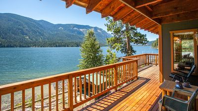 Photo for Relax at this Tranquil Lakefront Home