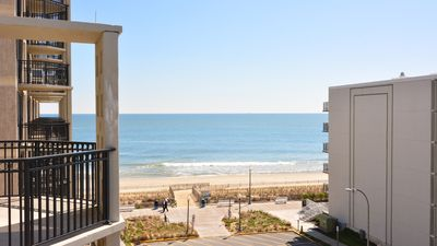 Photo for #502 Ocean Front Condo, 2 Bedroom, 1 Bath, One Virginia Avenue, Rehoboth Beach DE