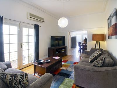 Photo for Family Friendly, Pets, MCG 3.5km, Epworth Hospital 400m, Foxtel Sports, Garage