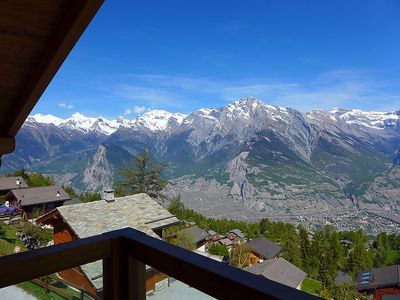 Photo for House 260 m from the center of Nendaz with Parking, Internet, Washing machine, Balcony (37441)
