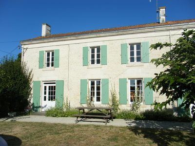 Photo for SPECIAL OFFER AUGUST Charentaise house in quiet village close to La Rochelle.