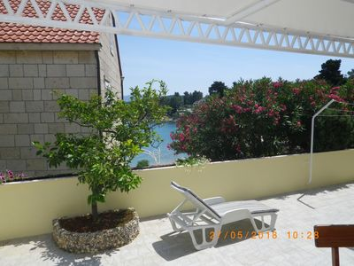 Photo for A1-apartment 50m from the beach with the sea view