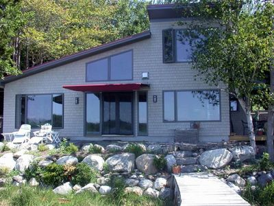 Photo for Tidal Cove- Informal Charming Cottage Rebuilt to Passive Cozy