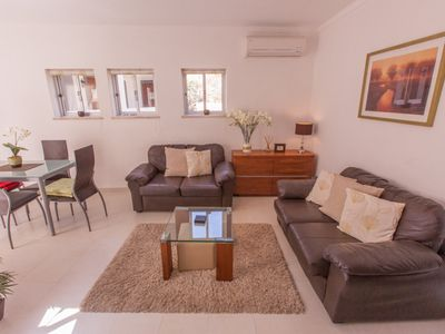 Photo for 2 Bedroom Apartment In Burgau (4439 Al) 50 Meters From The Beach.